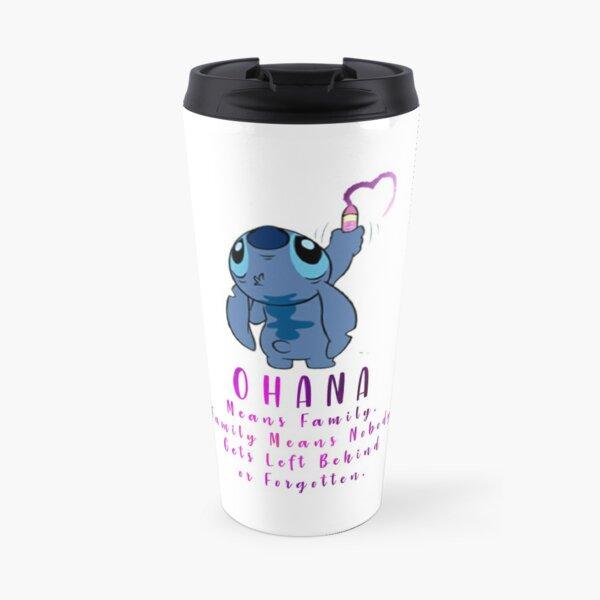 Lilo and Stitch Ohana Travel Mug