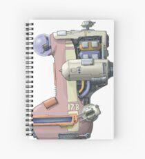 Bongship Spiral Notebook