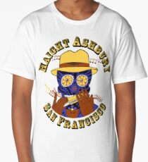 Sugar Skull Haight Ashbury by Steve Lafler Long T-Shirt