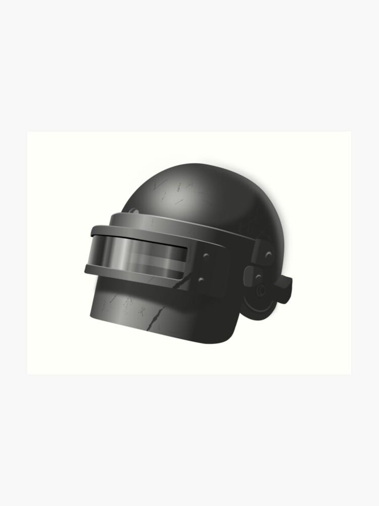 Russian spetsnaz helmet (PUBG level 3 helmet)  | Art Print