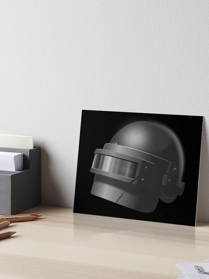Russian spetsnaz helmet (PUBG level 3 helmet)  | Art Board Print