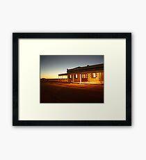 Birdsville Hotel Framed Print