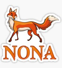 Nona Fox Sticker