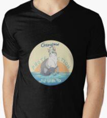 Grappaw-Schutztrupp T-Shirt mit V-Ausschnitt für Männer