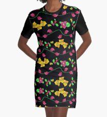 Floral - Bougainville Graphic T-Shirt Dress
