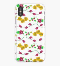 Floral - Bougainville iPhone Case