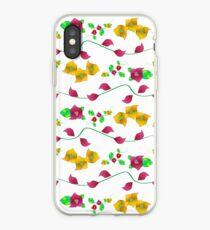 Floral - Bougainville iPhone Case