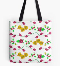 Floral - Bougainville Tote Bag
