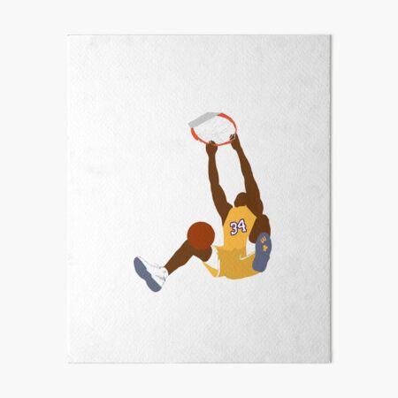 shaquille o'neal Art Board Print