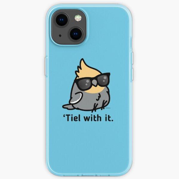 'Tiel with it - Grey Cockatiel iPhone Soft Case