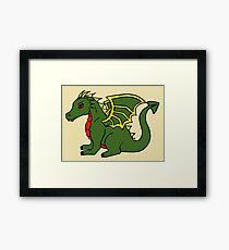 Dragon. Category I (300-500° F)  Framed Print