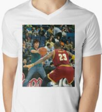 Lebron James and Highschool Musical Troy Men's V-Neck T-Shirt