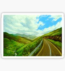 Road Trip Through the Hills Sticker