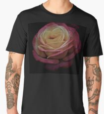 Antique Double Delight Rose  Men's Premium T-Shirt