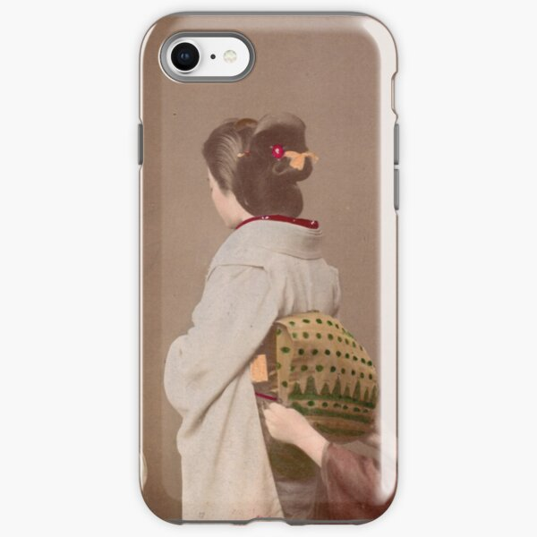 Japanese girls wearing kimono iPhone Tough Case