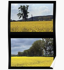Yellow Sea – Diptych Poster