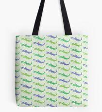 happy alligators purple Tote Bag