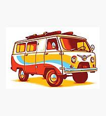 Retro Volkswagen Van Photographic Print