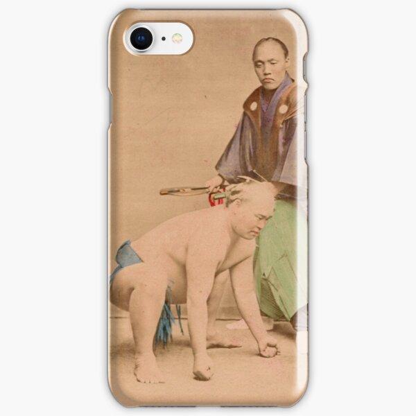 Sumo wrestlers, Japan, 1890s iPhone Snap Case