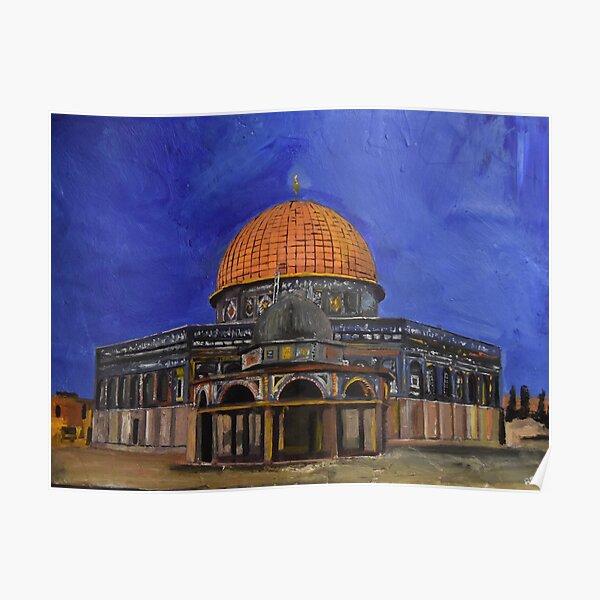 Dome of the Rock, Jerusalem Poster