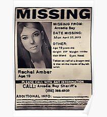 Vermisst: Rachel Amber Poster