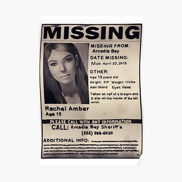 Missing: Rachel Amber Poster