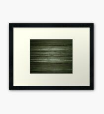 Grungy Green Framed Print