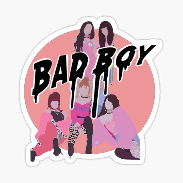 Red Velvet- Bad Boy Pegatina
