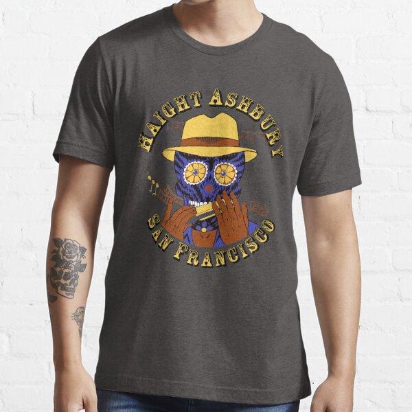 Sugar Skull Haight Ashbury by Steve Lafler Essential T-Shirt