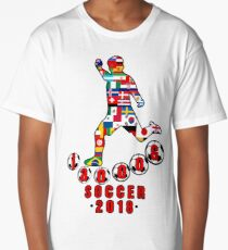 Russia 2018 World Cup - Soccer Qualified Team Long T-Shirt