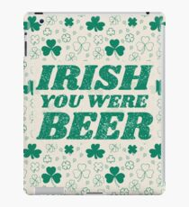 irish beer iPad Case/Skin