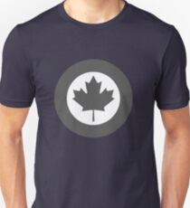 Roundel of Canada (Grey) Unisex T-Shirt