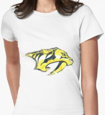 Preds Watercolor Women's Fitted T-Shirt