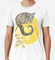 Common Brushtail Possum – The Cutest Pest Men's Premium T-Shirt