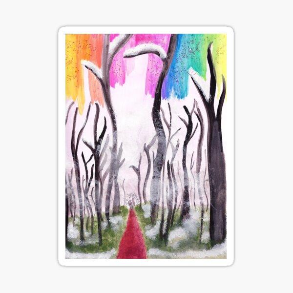 Forest Walk Sticker