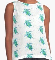 Sea Turtle by Jan Marvin Sleeveless Top
