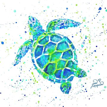 Sea Turtle by Jan Marvin by janmarvin