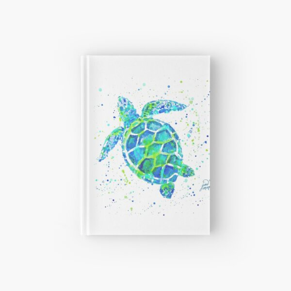 Sea Turtle by Jan Marvin Hardcover Journal