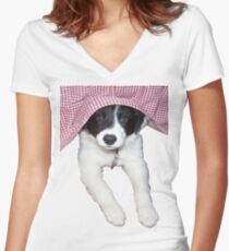 Baby Champ Women's Fitted V-Neck T-Shirt