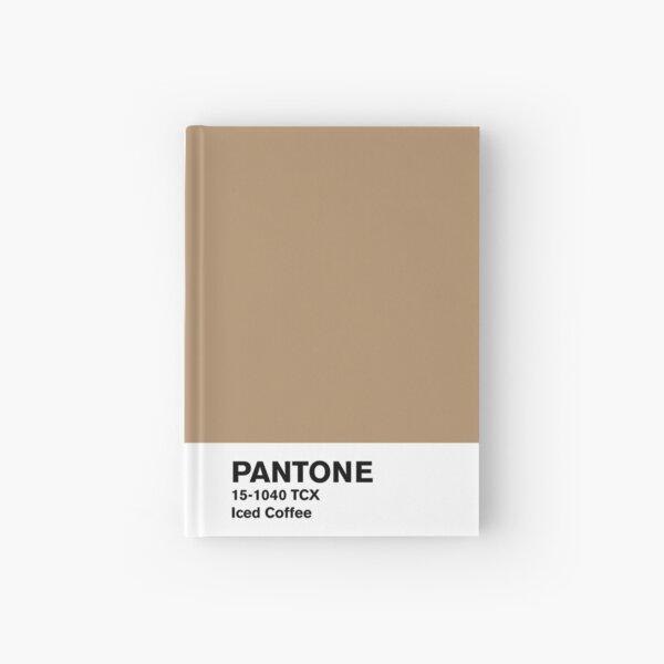 Iced Coffee Pantone Hardcover Journal