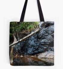 Water Over Rocks Tote Bag