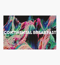Continental Breakfast Photographic Print