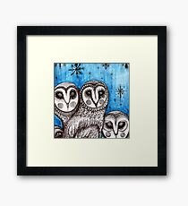 creature of the night  Framed Print
