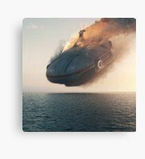 Subnautica Game - Crash Canvas Print
