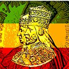 His Majesty Haile Selassie Empress Menen by rastaseed