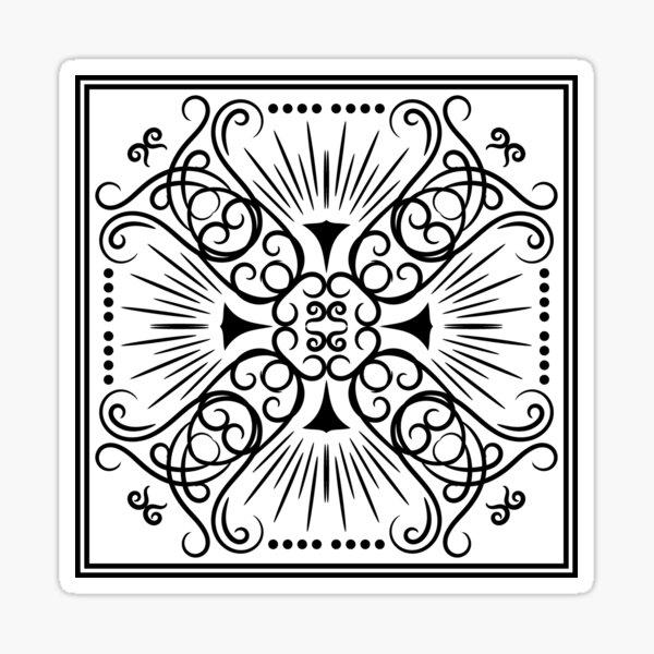 Four Piece  Sticker