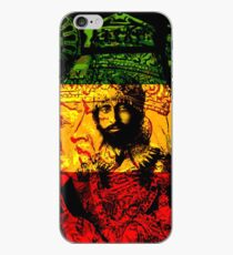 Vinilo o funda para iPhone Rasta Haile Selassie Natural Mystic Lion of Judah