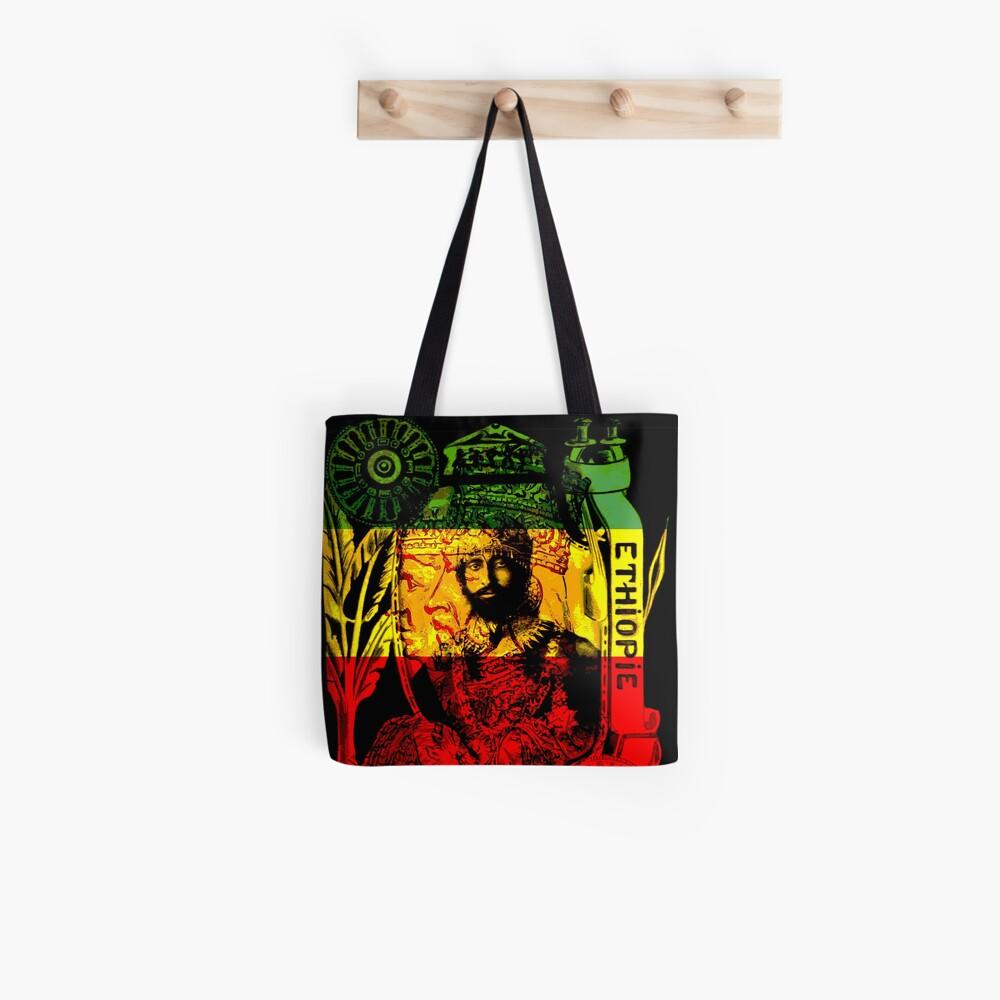 Rasta Haile Selassie Natural Mystic Lion of Judah Tote Bag