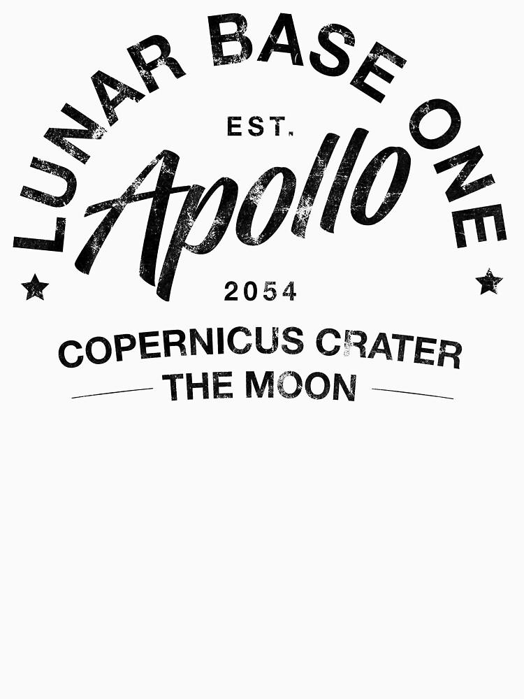 Lunar Base One by ezzyapple