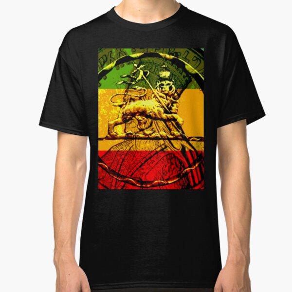 Rasta Lion of Judah Classic T-Shirt